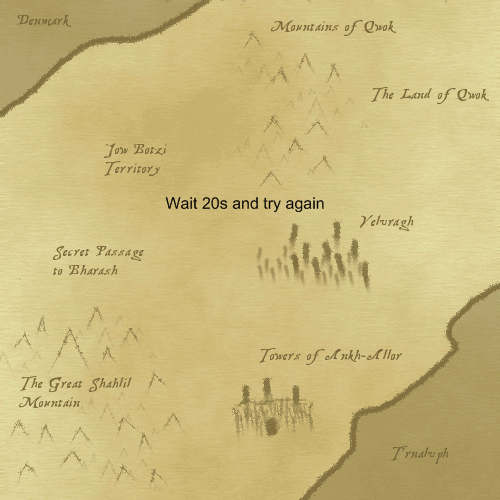 Idle RPG Quest Map